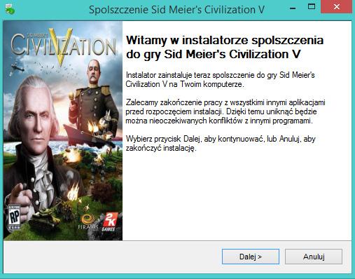 Sid Meier's Civilization V spolszczenie