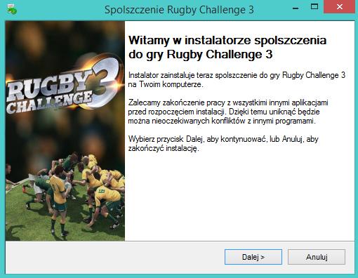Rugby Challenge 3 spolszczenie