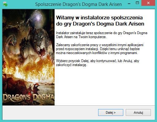 Dragon's Dogma Dark Arisen spolszczenie