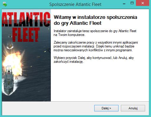 Atlantic Fleet spolszczenie