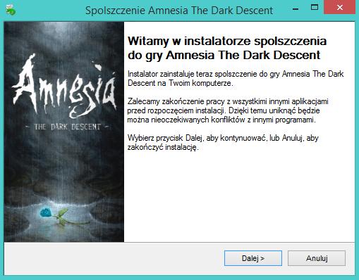 Amnesia The Dark Descent spolszczenie