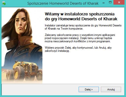 Homeworld Deserts of Kharak spolszczenie