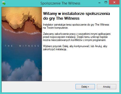 The Witness spolszczenie