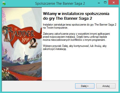 The Banner Saga 2 spolszczenie
