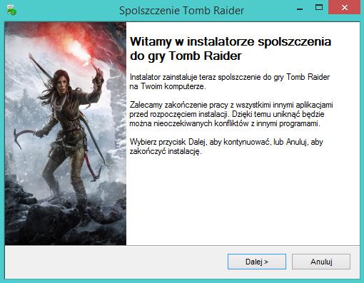 Tomb Raider spolszczenie pobierz