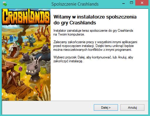 Crashlands Spolszczenie