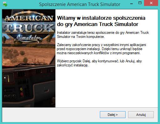 American Truck Simulator spolszczenie