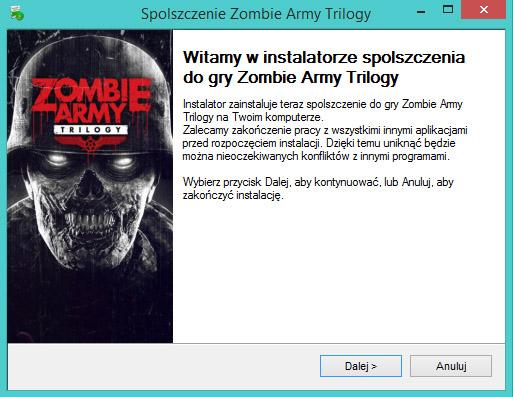 Zombie Army Trilogy spolszczenie