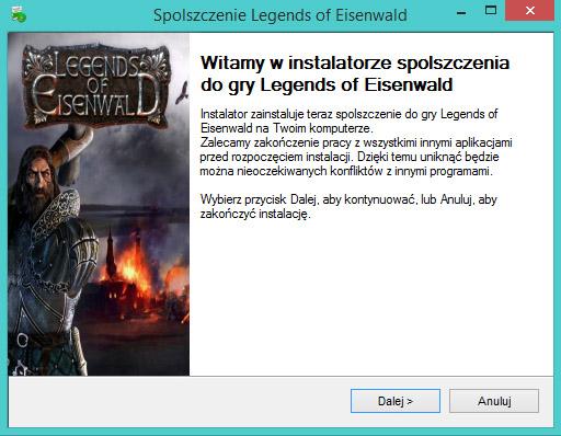 Legends of Eisenwald spolszczenie