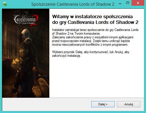 Castlevania Lords of Shadow 2 spolszczenie
