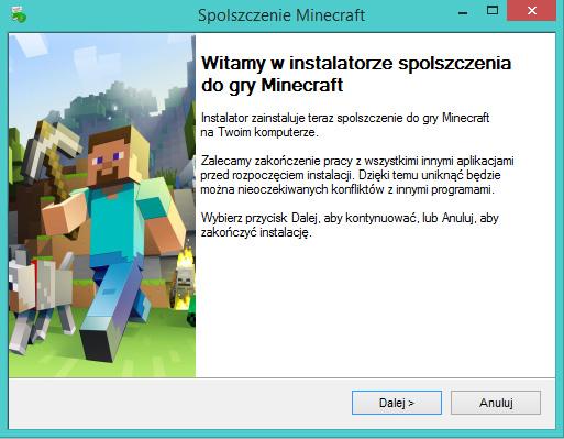Minecraft spolszczenie