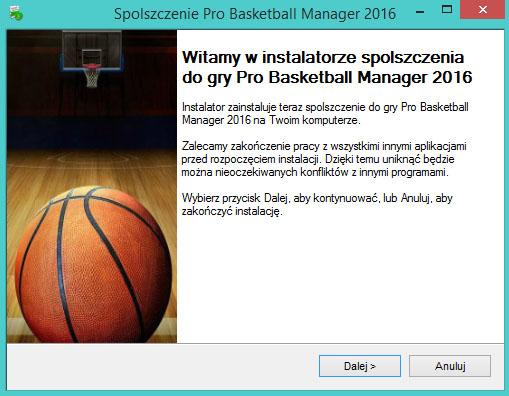 Pro Basketball Manager 2016 spolszczenie