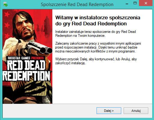 Red Dead Redemption spolszczenie