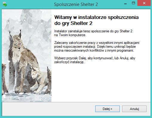 Shelter 2 spolszczenie