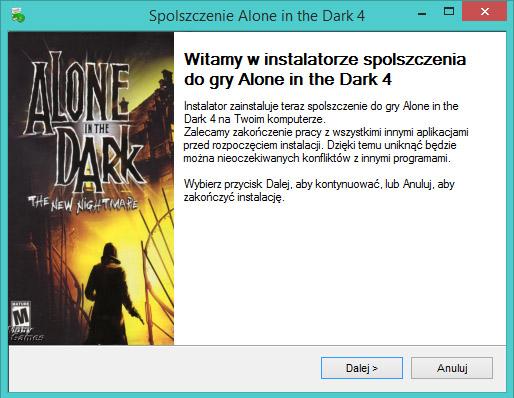 Alone in the Dark 4 spolszczenie