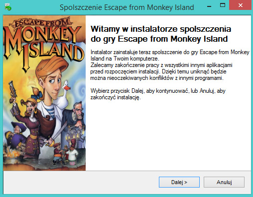 Escape from Monkey Island spolszczenie