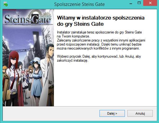 Steins Gate spolszczenie
