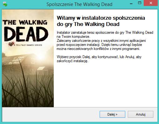 The Walking Dead Episode 1 spolszczenie