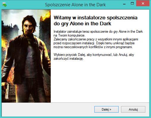 Alone in the Dark spolszczenie