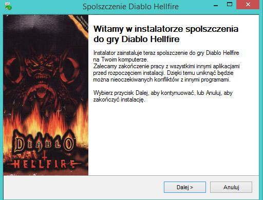 Diablo Hellfire spolszczenie