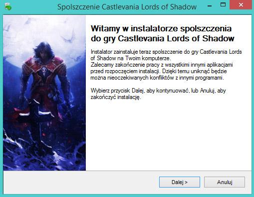 Castlevania Lords of Shadow spolszczenie