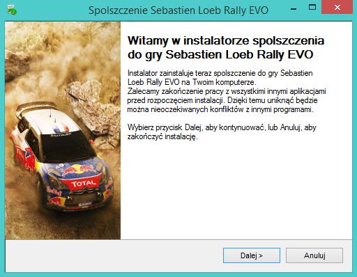 Sebastien Loeb Rally EVO spolszczenie