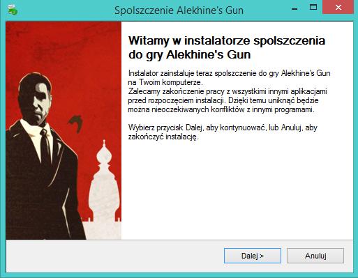 Alekhine's Gun spolszczenie