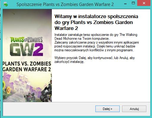 Plants vs Zombies Garden Warfare 2 spolszczenie