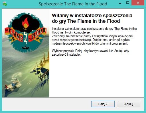 The Flame in the Flood spolszczenie