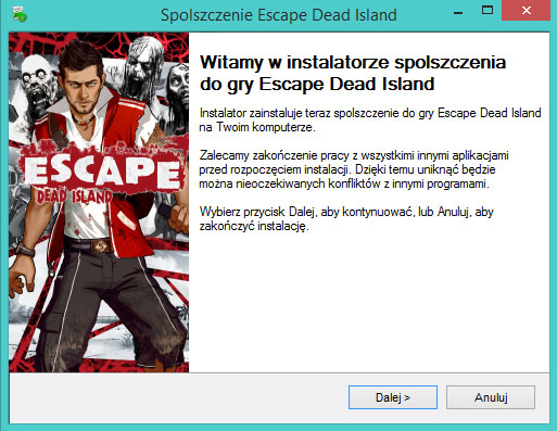 Escape Dead Island spolszczenie