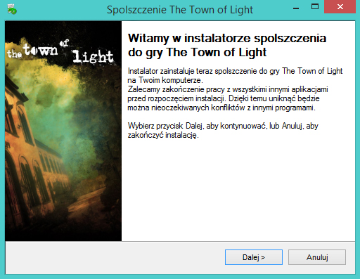 The Town of Light spolszczenie