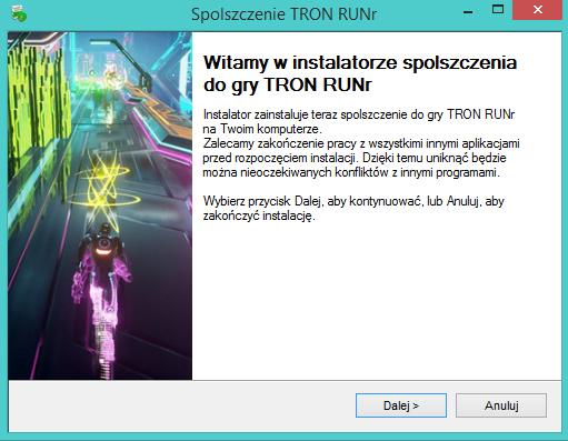 TRON RUN/r spolszczenie