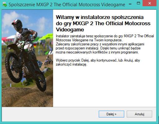 MXGP 2 The Official Motocross Videogame spolszczenie
