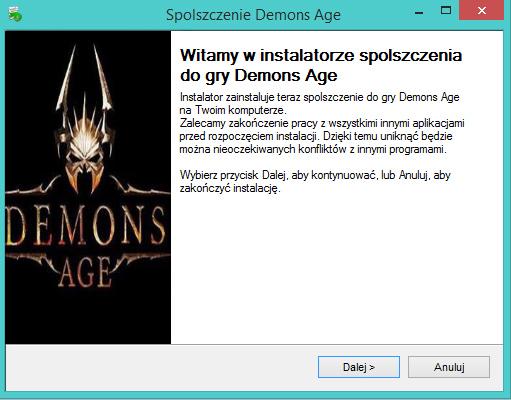 Demons Age spolszczenie