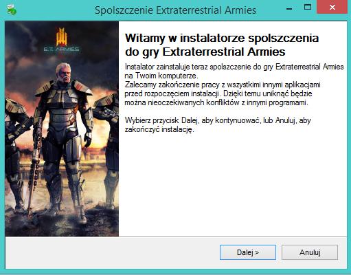 Extraterrestrial Armies spolszczenie