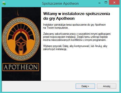 Apotheon spolszczenie