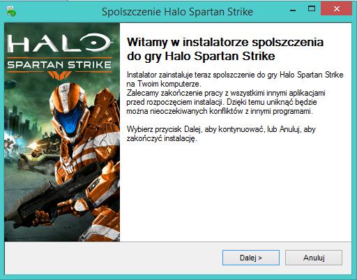 Halo Spartan Strike spolszczenie
