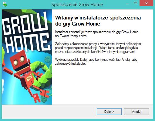 Grow Home spolszczenie