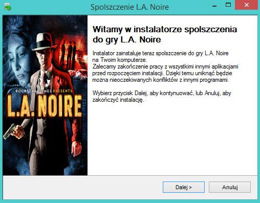 L.A. Noire spolszczenie