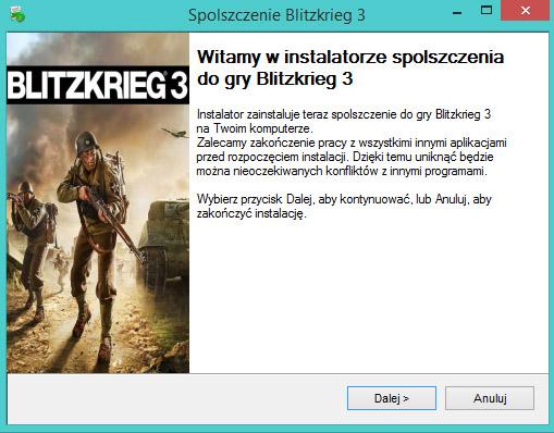 Blitzkrieg 3 spolszczenie