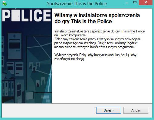 This is the Police spolszczenie