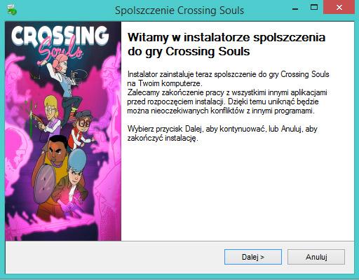 Crossing Souls spolszczenie