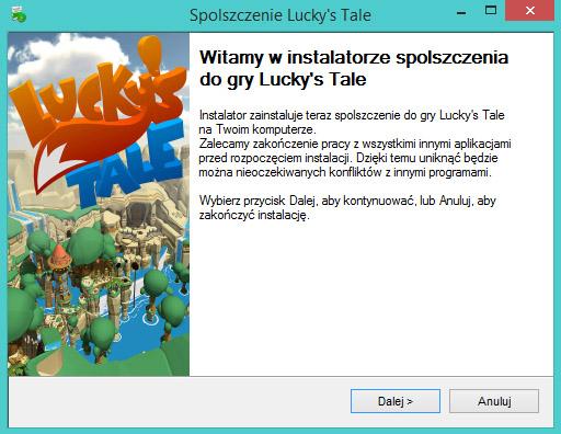 Lucky's Tale Spolszczenie