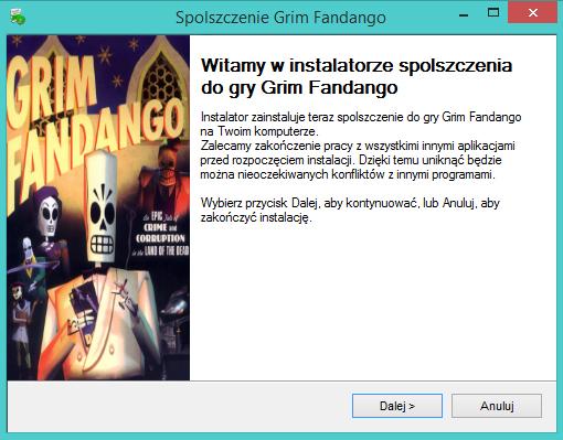 Grim Fandango spolszczenie