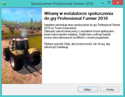 Professional Farmer 2016 spolszczenie