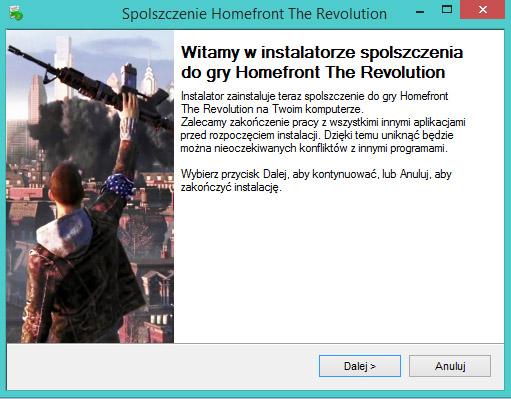Homefront The Revolution spolszczenie