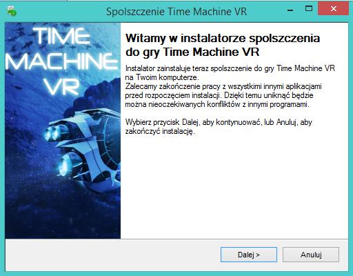 Time Machine VR spolszczenie