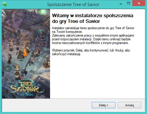 Tree of Savior spolszczenie