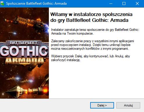 Battlefleet Gothic Armada spolszczenie
