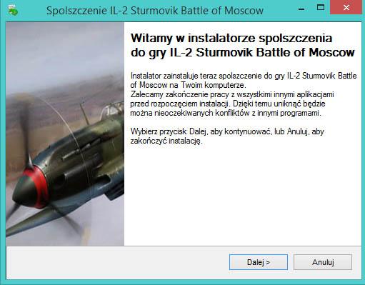 IL-2 Sturmovik Battle of Moscow spolszczenie